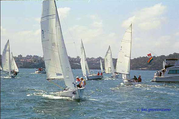Sailing in the Sydney Gay Games